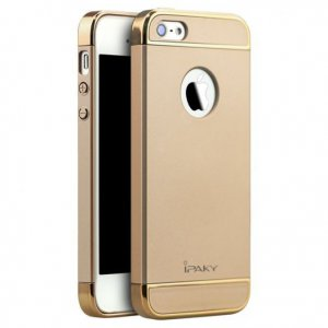 Чехол для смартфона Ipaky Joint Shiny iPhone 5/5S/SE Gold