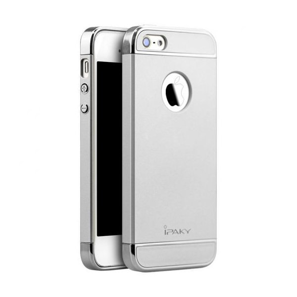 Чехол для смартфона Ipaky Joint Shiny iPhone 5/5S/SE Silver