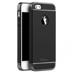 Чехол для смартфона Ipaky Joint Shiny iPhone 5/5S/SE Black