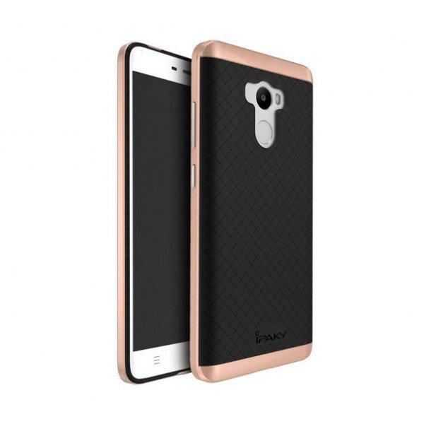 Чехол для смартфона Ipaky Hybrid Series Xiaomi Redmi 4 Prime  Black Gold