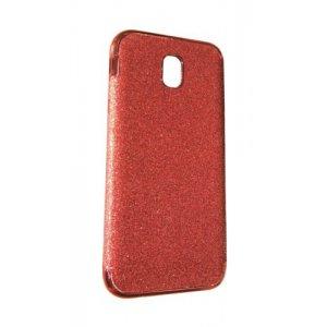 Силікон блискітки Хром IPhone X / Xs Red