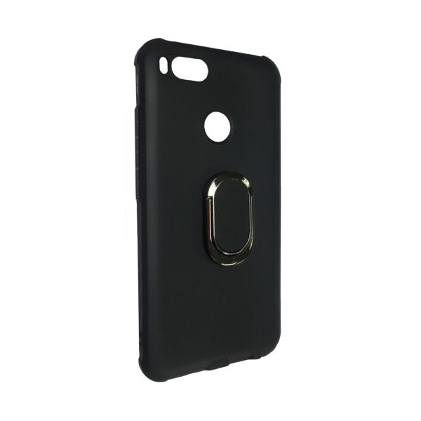 Силиконовый чехол TPU с подставкой для Xiaomi Mi 5X / A1 Black