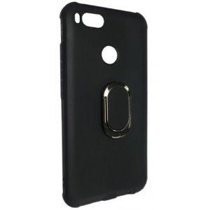 Силиконовый чехол TPU с подставкой для Xiaomi Redmi Note 4X Black