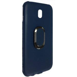Силиконовый чехол TPU с подставкой для Xiaomi Redmi Note 4X Blue