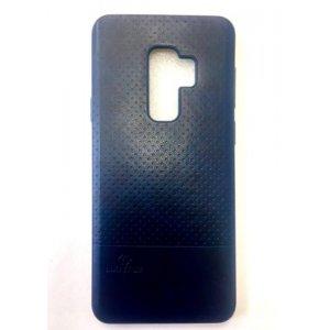LUO Case Накладка под кожу для Samsung S9 Plus Blue