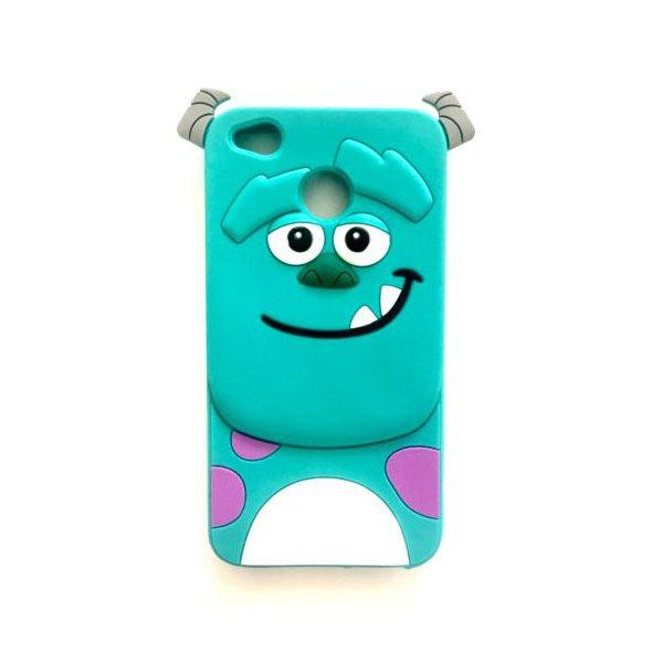 Силикон Игрушки для Xiaomi Redmi 4X Корпорация монстров Green