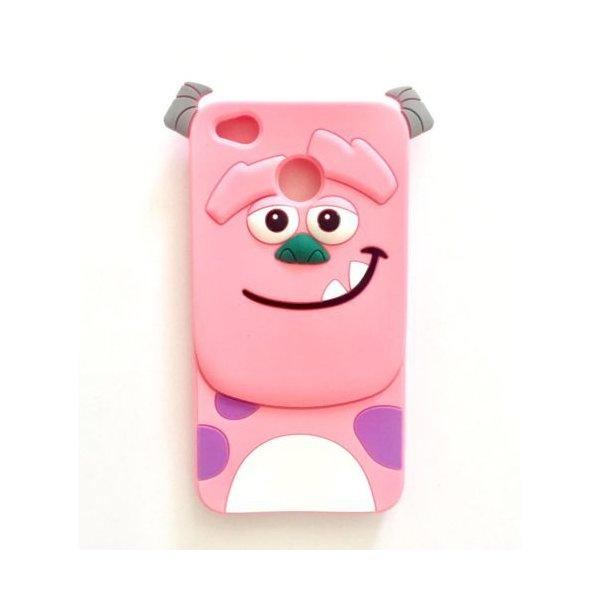 Силікон Іграшки для Xiaomi Redmi 4X Корпорація монстрів Pink