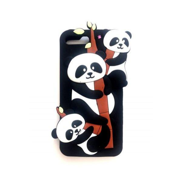 Силикон Игрушки для Xiaomi Redmi 4X Панда Black