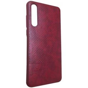 LUO Case Накладка под кожу для Samsung J4 2018 Red