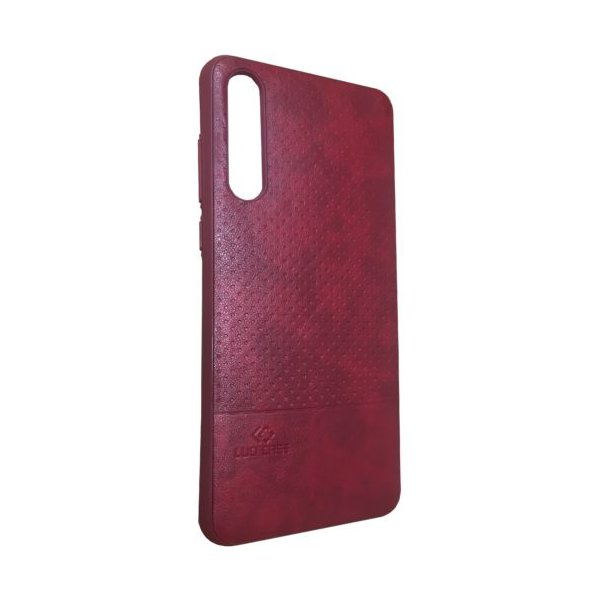 LUO Case Накладка под кожу для Samsung J6 2018 Red