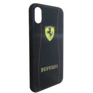 Чехол - накладка Glass TPU plusPC для Xiaomi Redmi 6A Ferrari