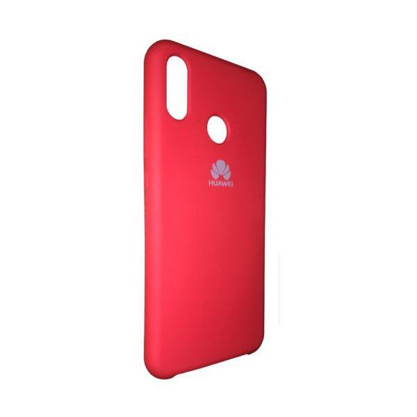 """ОРИГІНАЛЬНИЙ СИЛІКОНОВИЙ чохол для Xiaomi Redmi 6 Pro / Mi A2 Lite """"07"""" Червоний"""