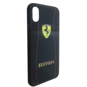Чехол - накладка Glass TPU plusPC для Xiaomi Redmi Note 6 Pro Ferrari