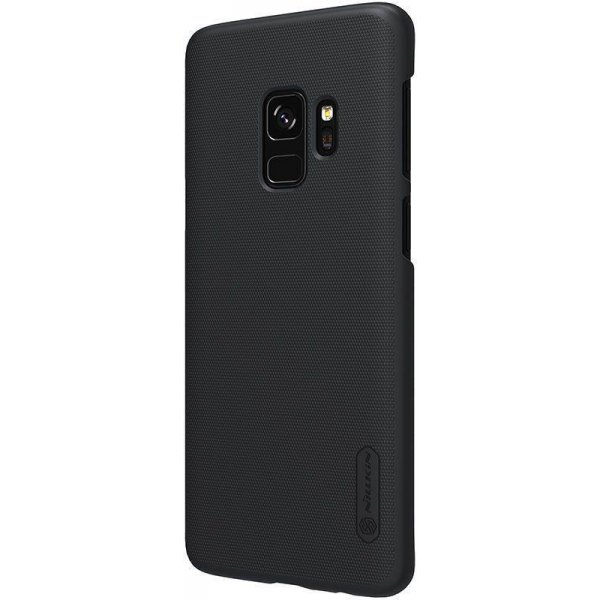 Чехол-накладка Nillkin Super Frosted Shield Samsung Galaxy S9 (G960FZ) Black