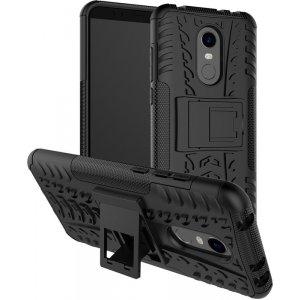Чехол-накладка TOTO Dazzle kickstand 2 in 1 phone case для Xiaomi Redmi 5 Black