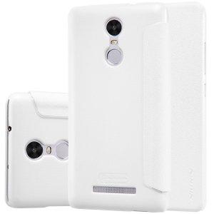 Чехол-книжка Nillkin Sparkle case для Xiaomi Redmi Note 3 White
