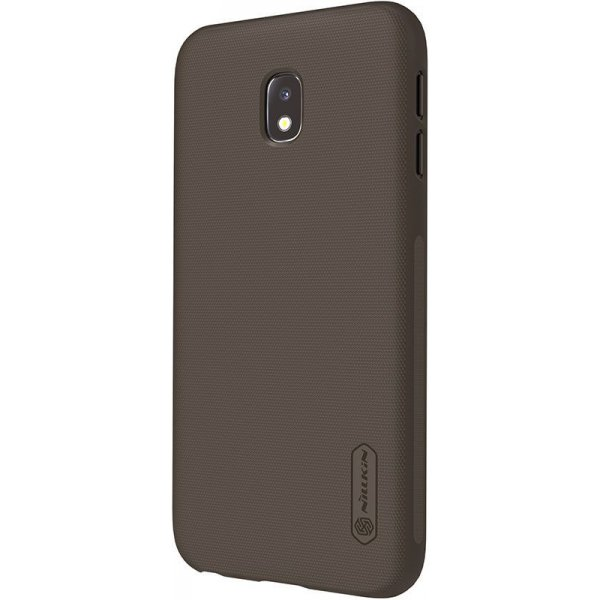 Чехол-накладка Nillkin Super Frosted Shield Samsung Galaxy J3 2017 (J330) Brown