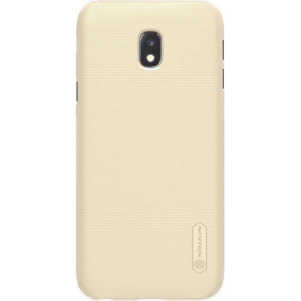 Чехол-накладка Nillkin Super Frosted Shield Samsung Galaxy J3 2017 (J330) Gold