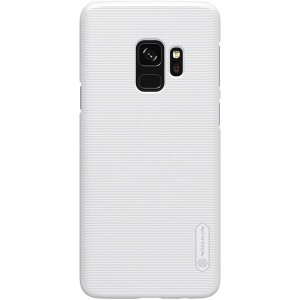 Чехол-накладка Nillkin Super Frosted Shield Samsung Galaxy S9 (G960FZ) White