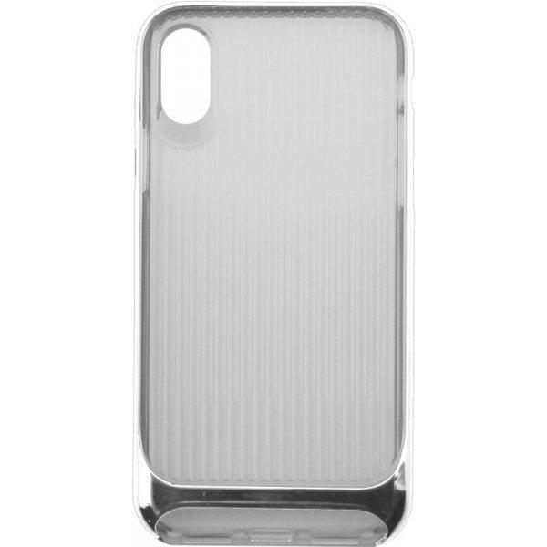 Чехол-накладка Usams Senior Series Apple iPhone X Silver