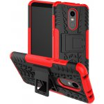 Чехол-накладка TOTO Dazzle kickstand 2 in 1 phone case для Xiaomi Redmi 5 Plus Red