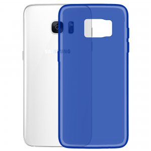Чехол-накладка TOTO TPU case matte для Samsung Galaxy S7 Flat G930 Blue