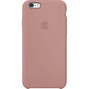Чохол-накладка для Silicone Case iPhone 6/6s Бузковий