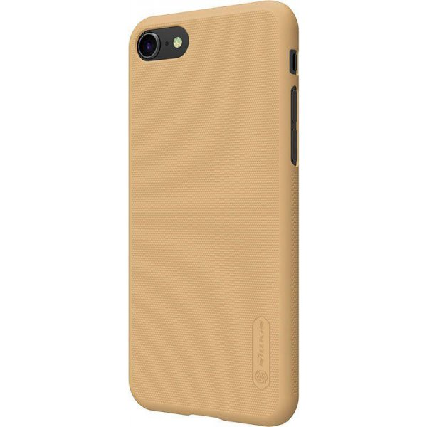 Чехол-накладка Nillkin Super Frosted Shield Apple iPhone 8 Gold