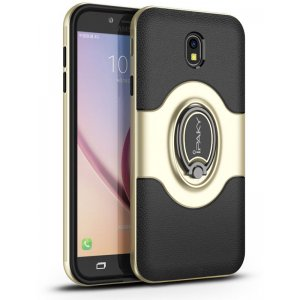 Чехол-накладка Ipaky 360° Free Rotation Ring Holder case Samsung Galaxy J3 (2017) J330 Gold