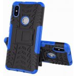 Чехол-накладка TOTO Dazzle kickstand 2 in 1 phone case для Xiaomi Redmi S2 Blue