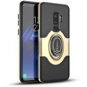 Чехол-накладка Ipaky 360° Free Rotation Ring Holder case Samsung Galaxy S9 G960F Gold