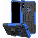 Чехол-накладка TOTO Dazzle kickstand 2 in 1 phone case для Xiaomi Mi 6x/Mi A2 Blue