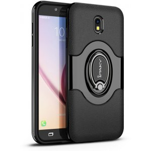 Чехол-накладка Ipaky 360° Free Rotation Ring Holder case Samsung Galaxy J3 (2017) J330 Black