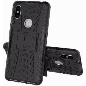 Чехол-накладка TOTO Dazzle kickstand 2 in 1 phone case для Xiaomi Redmi S2 Black