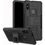 Чехол-накладка TOTO Dazzle kickstand 2 in 1 phone case для Xiaomi Mi 6x/Mi A2 Black
