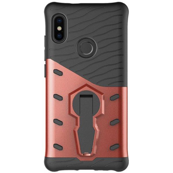 Чехол-накладка TOTO Sniper Case 2 in 1 Phone Case Xiaomi Redmi Note 5 Pink