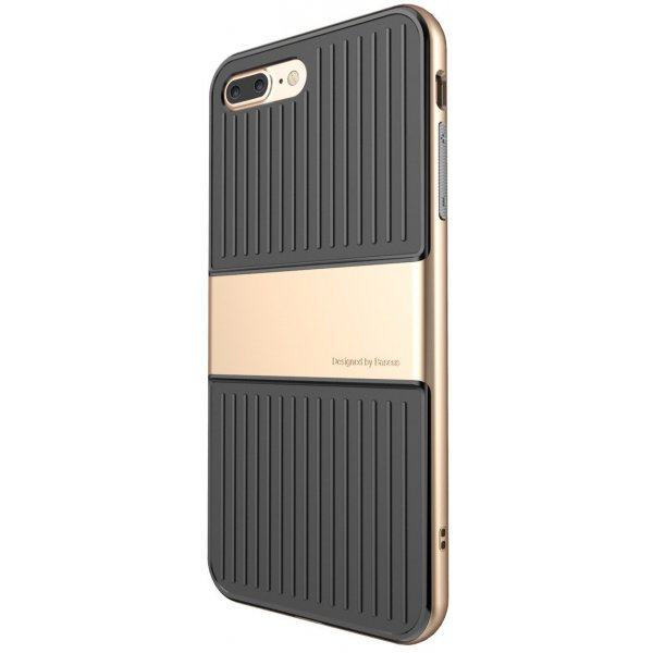 Чехол-накладка Baseus Travel Mat Case iPhone 7 Plus Gold