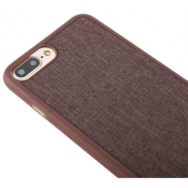 Чехол-накладка Baseus Grain Case iPhone 7 Plus Brown