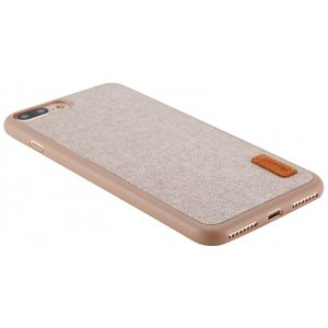 Чехол-накладка Baseus Grain Case iPhone 7 Plus Khaki