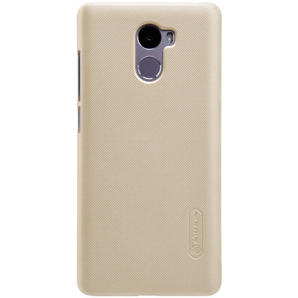 Чехол-накладка Nillkin Super Frosted Shield Xiaomi Redmi 4 Gold