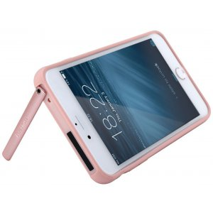 Чехол-накладка Baseus Hermit Bracket Case iPhone 7 Plus Pink