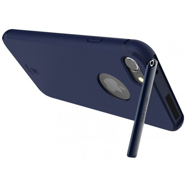 Чехол-накладка Baseus Hermit Bracket Case iPhone 7 Dark Blue