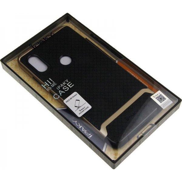 Чехол-накладка Ipaky Bumblebee PC Frame with TPU Case Xiaomi Redmi Note 5/Redmi Note 5 Pro Black