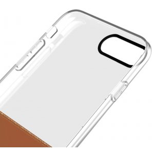 Чехол-накладка Baseus Half to Half Case iPhone 7 Plus Brown