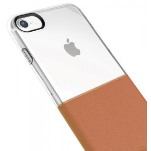 Чехол-накладка Baseus Half to Half Case iPhone 7 Brown