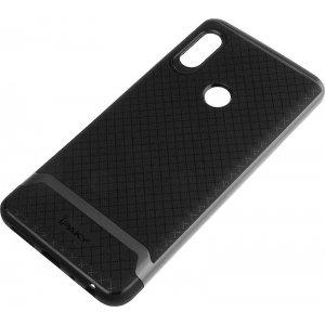 Чехол-накладка Ipaky Bumblebee PC Frame with TPU Case Xiaomi Redmi Note 5/Note 5 Pro Black Grey
