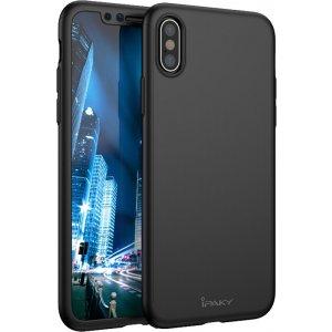 Чехол-накладка Ipaky 360 PC Full Protection case iPhone X Black
