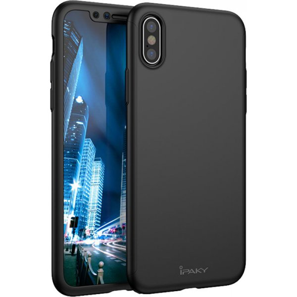 Чехол-накладка Ipaky 360 PC Full Protection case iPhone X Black