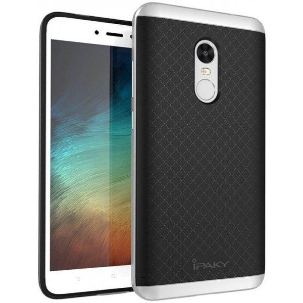 Чехол-накладка Ipaky TPU plusPC Xiaomi Redmi Note 4x Black/Silver