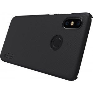 Чехол-накладка Nillkin Super Frosted Shield Xiaomi MI8 Black